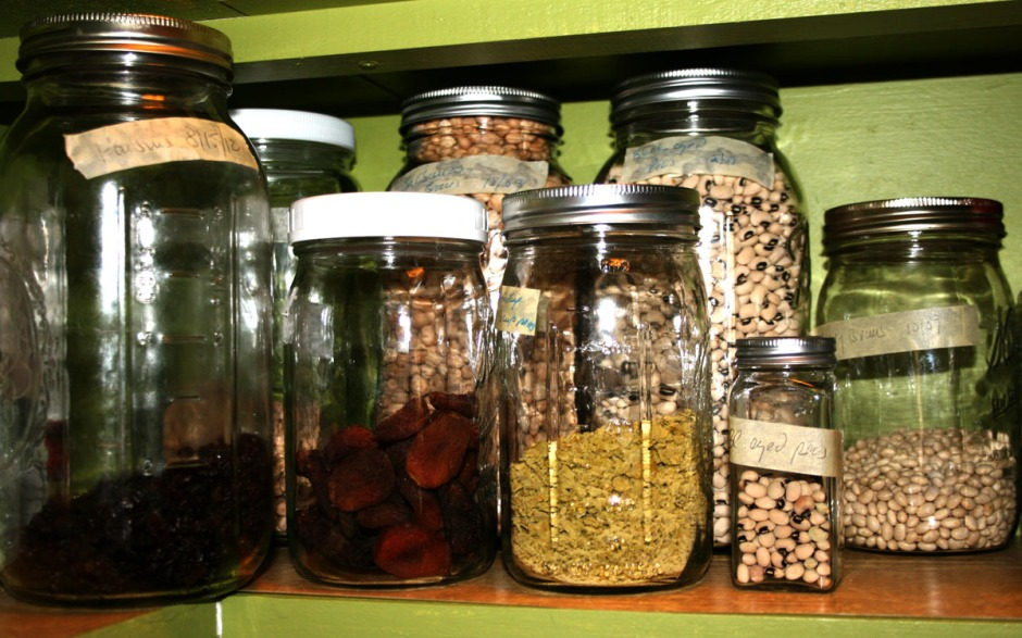 Pantry close-up
