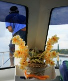Offering on boat