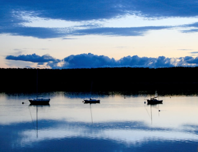 Findhorn Bay at Dusk for FB