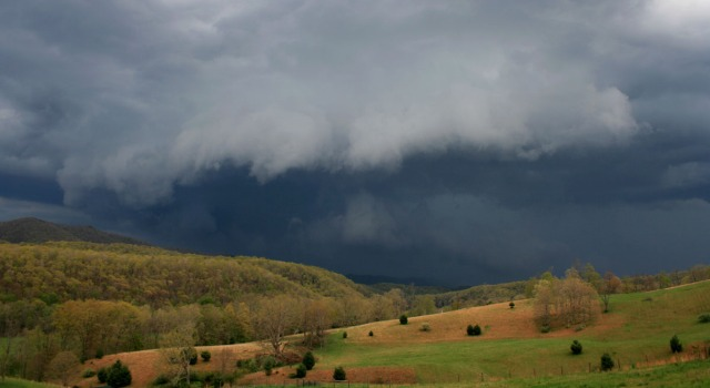 impending cloud burst