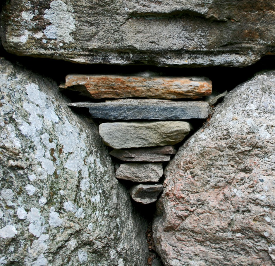 Rock detail, Scotland