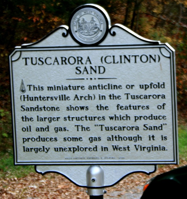 Tuscarora Sand sign