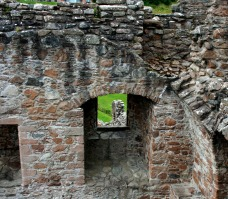 Urquhart Castle Tower details