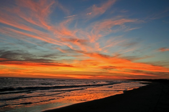 Sunset over Kiawah Island