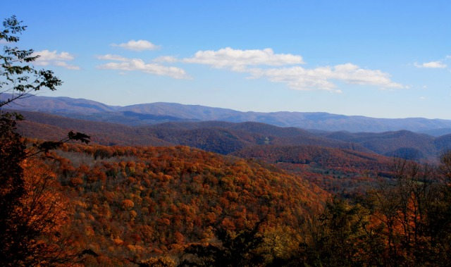 West Virginia Fall scenery