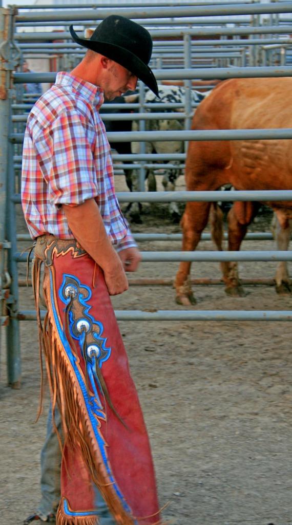 Pensive cowby