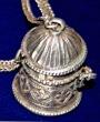 silver kohl pot
