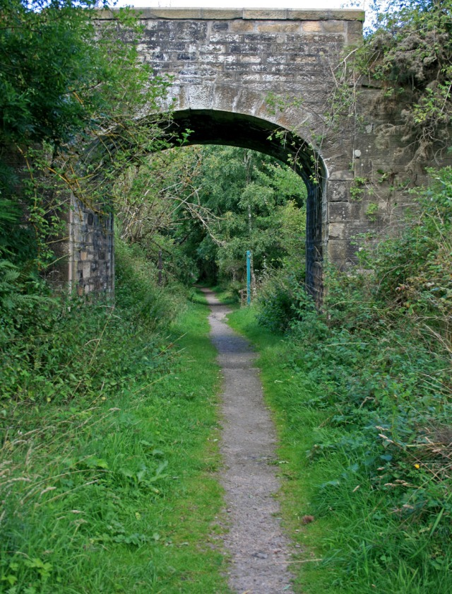 Bridge over footpath