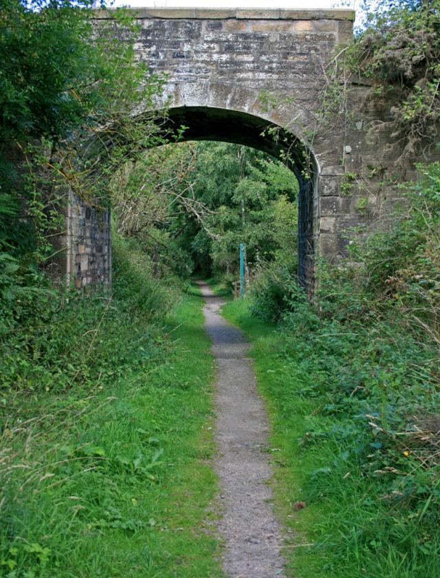 Bridge over footpath