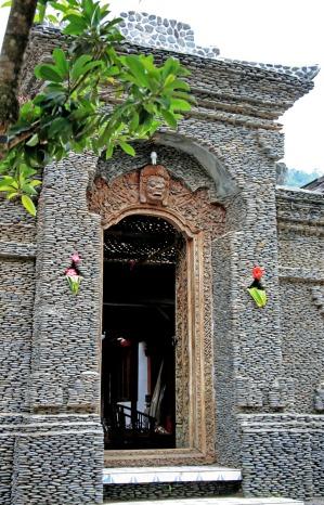 stone entryway