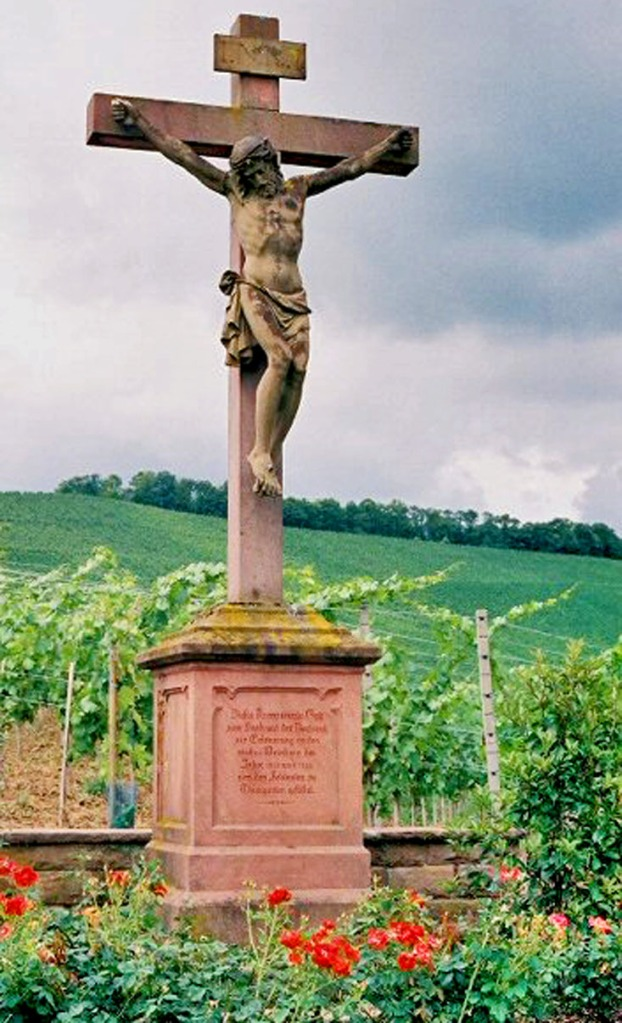 Cross in the Vineyards