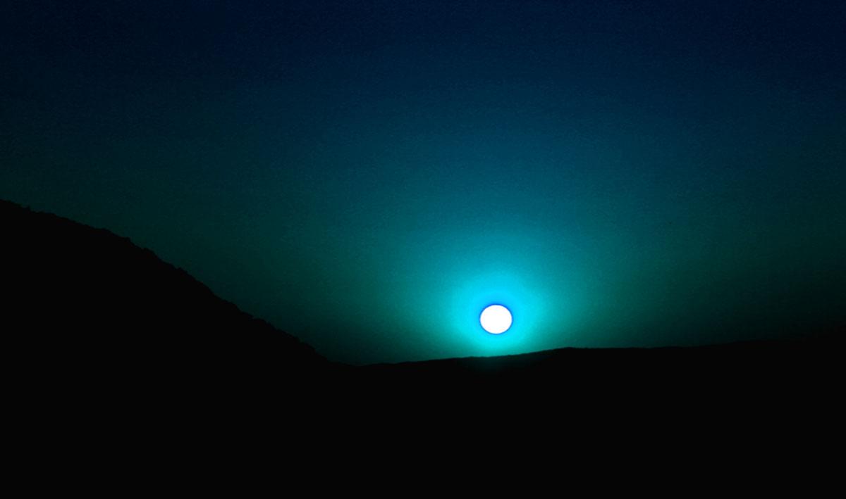 Blue Moon Glow | The Beauty Along the Road NASA