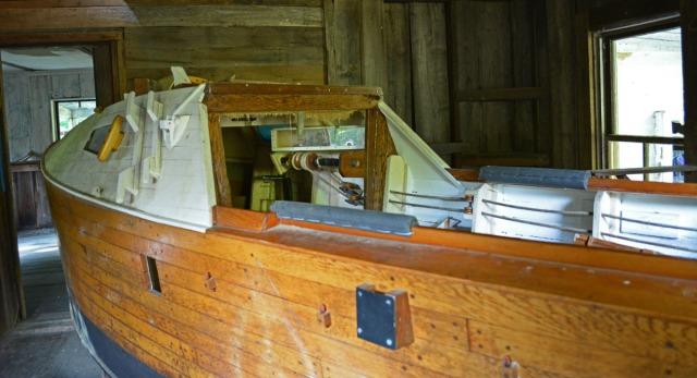 Skip's unfinished boat