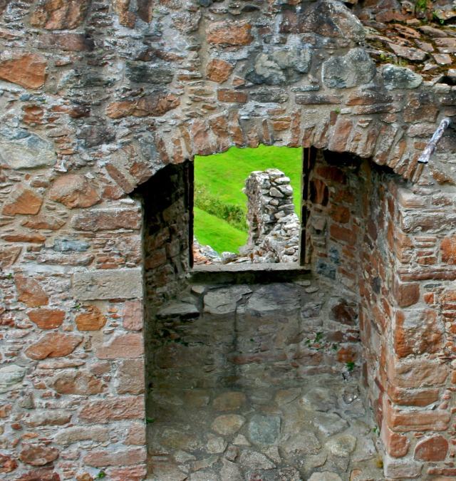 Castle window, Scotland