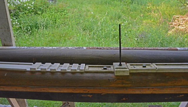 mast on front porch