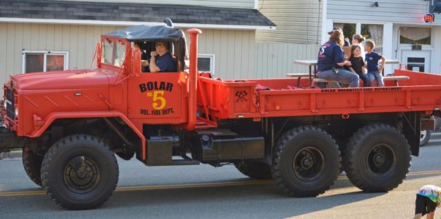Bolar Fire truck