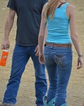 couple with orange crush