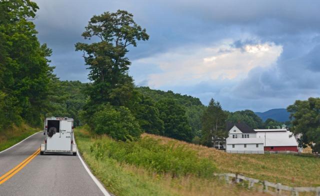farmhouse along the road