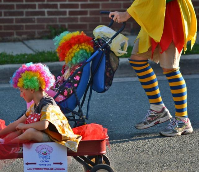 Little clowns