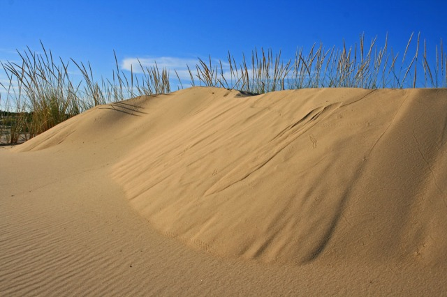 dune and blue sky