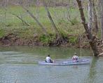 two guys fishing
