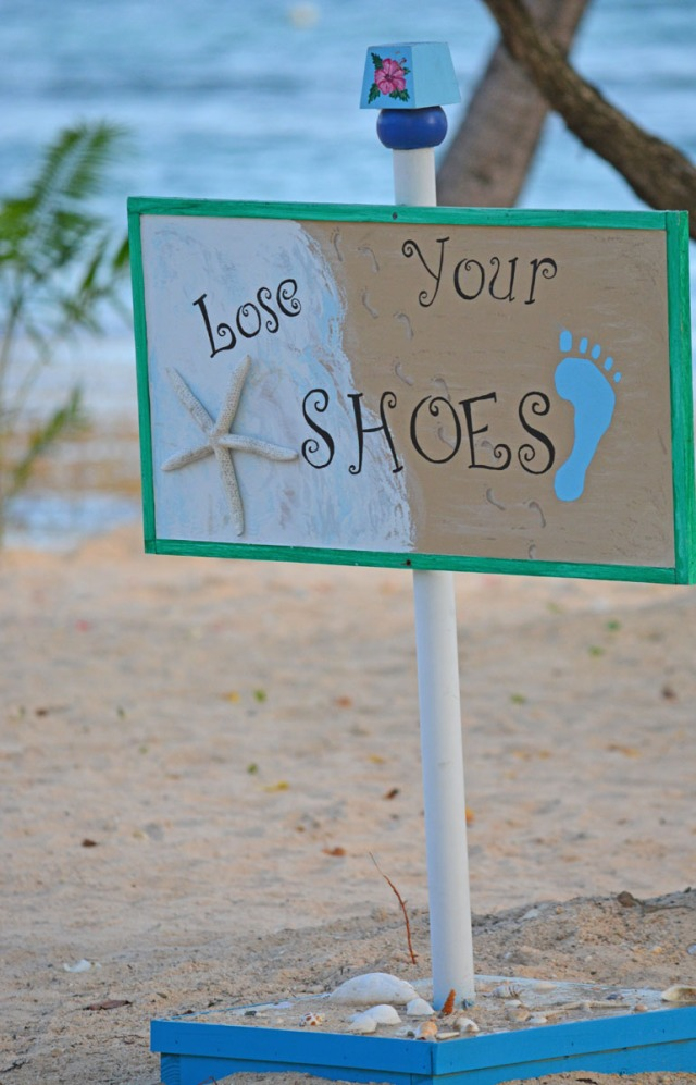 Lose your shoes