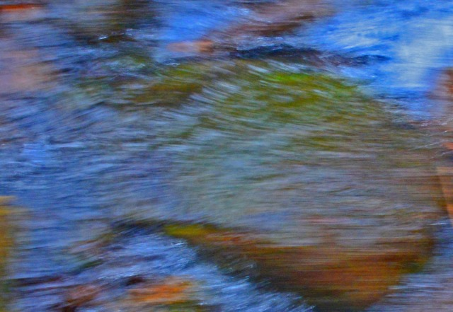blurred rock