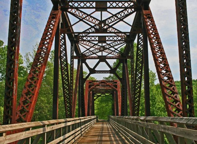 River bridge, West Virginia