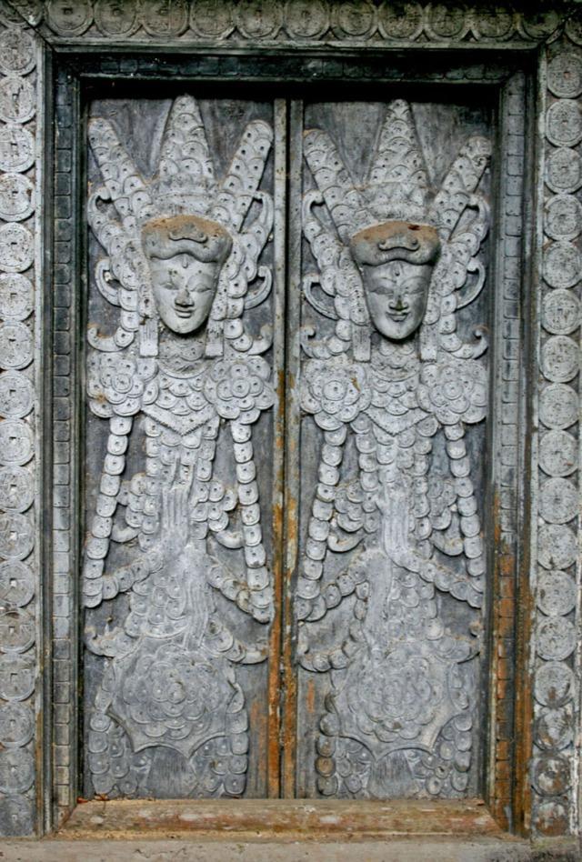 Decorative window in Bali