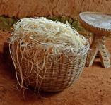 fiber for weaving