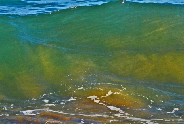 whirling sand