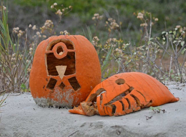 collapsed pumpkin