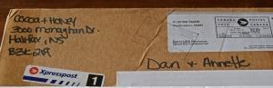 cocoa and honey return address