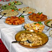 riistaffel lunch buffet