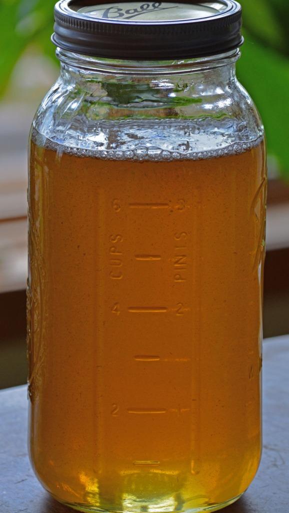 half gallon of honey